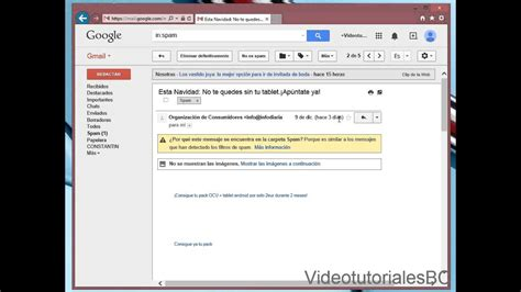 Spam Gmail - YouTube