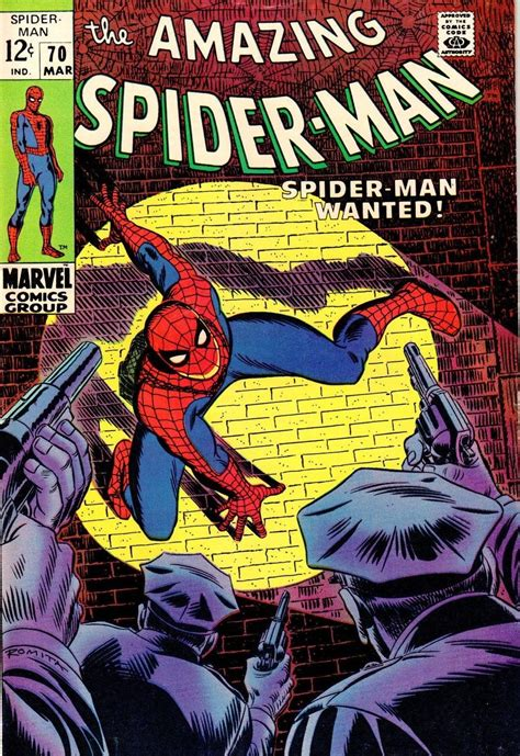 The Amazing Spider-Man Comic Book Values Issues #61 – 70