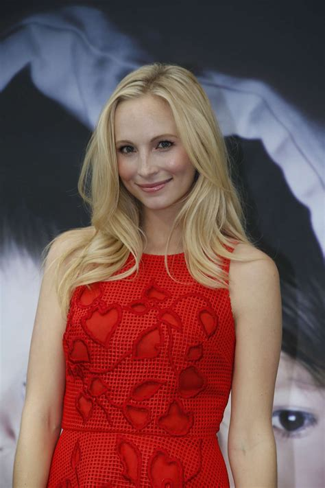Candice Accola: The Vampire Diaries Photocall at 2015