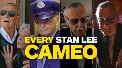 EVERY Stan Lee Marvel Movie Cameo (up to Black Panther