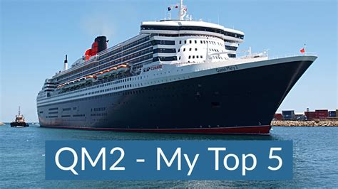 Top 5 BEST things about Queen Mary 2 - Cunard Ocean Liner