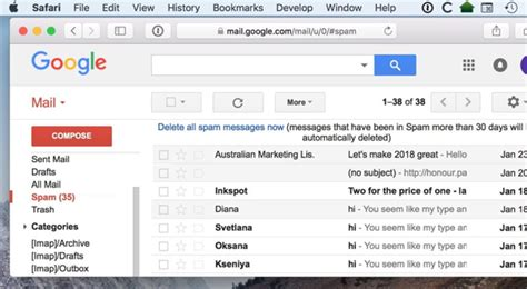 7 Reasons Why Your Gmail Spam Filter Isn't Working