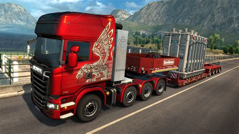Euro Truck Simulator 2 Receives New 'Heavy Cargo' DLC