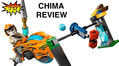 LEGO Chima 70102 Chi Waterfall Speedorz Review Legends of