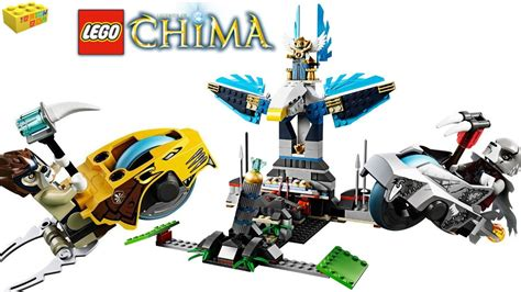 LEGO Legends Of Chima Eagles Castle Speedorz 70011 Review