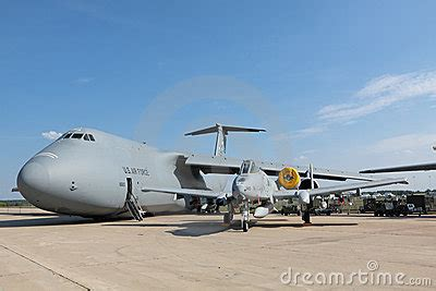 C5-M Super Galaxy And A-10 Editorial Photo - Image: 20851071